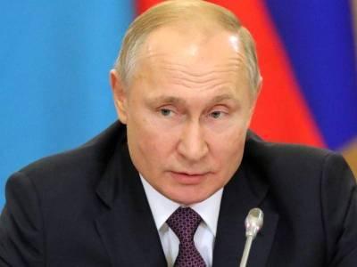 Путин обратился к гражданам из-за ситуации с COVID-19
