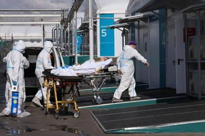 В Москве выявили рекордное количество заболевших COVID-19 с июня