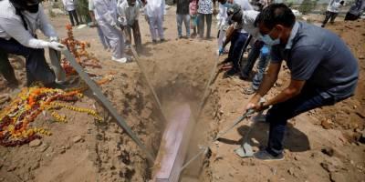 Каждый четвертый случай смерти от COVID-19 в мире приходится на Индию — ВОЗ